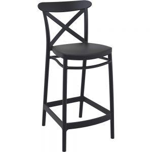 Mormetrik-Siesta Cross Bar Sandalyesi 65 264 Siyah