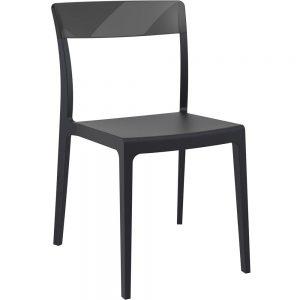 Mormetrik-Siesta Flash Sandalye 091 Siyah